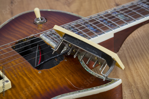 Luthier de guitarra Canvas Print
