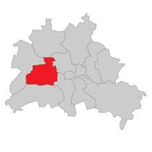 Berlin Charlottenburg-Wilmersdorf - Vektor