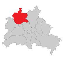 Berlin Reinickendorf - Vektor
