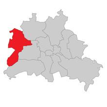 Berlin Spandau - Vektor