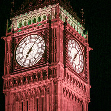 Big Ben, London. Night Shot Wi...
