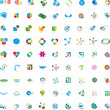 Große Logos Sammlung, Creative Logo Set