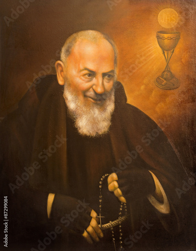 Valokuva  Cordoba - portrait of St. Pater Pio (Father Pio)