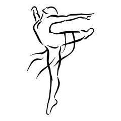 Fototapeta ballet female