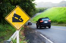 Steep Sign Symbol Warning Dang...