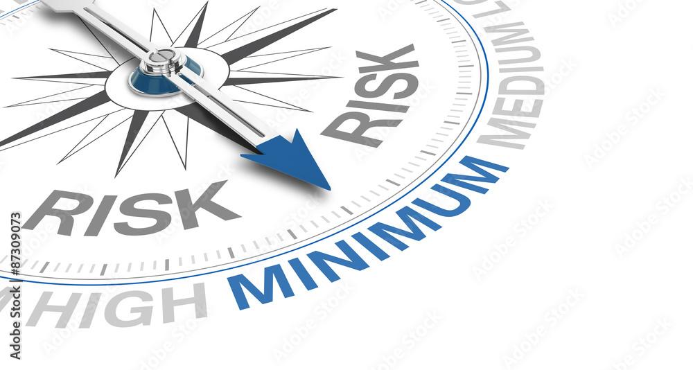 Fototapeta Compass / Risk / Minimum