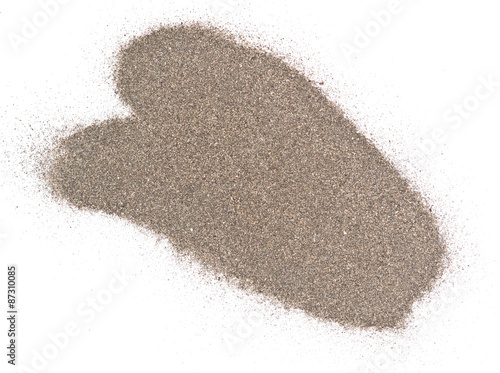 Photo sand pile