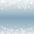 Bokeh blau weihnachtlich