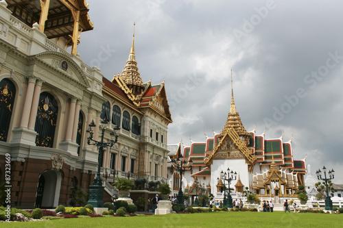 Photo  Grand Palace at Bangkok (Thailand)