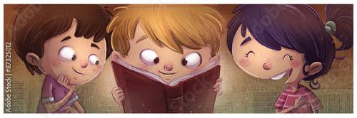 dzieci-czytajace-ksiazke