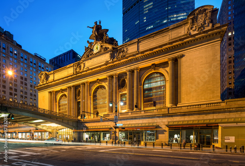 Foto auf AluDibond Bahnhof Grand Central Terminal in New York City USA