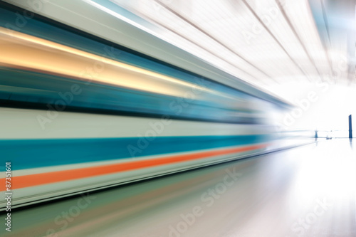 very high-speed train Poster