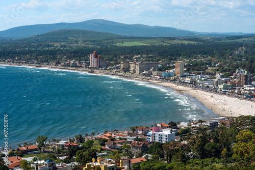 Photo Stands South America Country Resort Town of Piriapolis, Maldonado, Uruguay