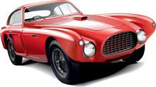 Rarity Red Car
