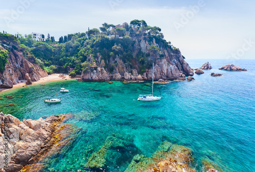 Mediterranean coast of Spain Canvas Print