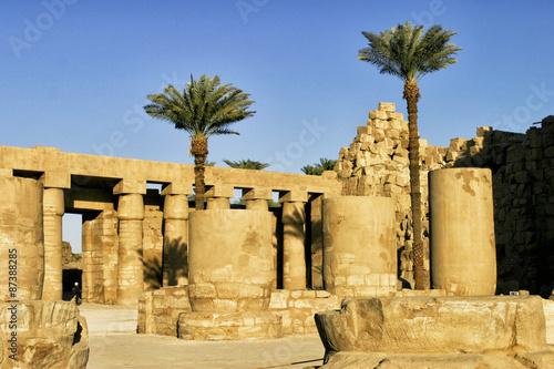 In de dag Egypte Egypt, Luxore