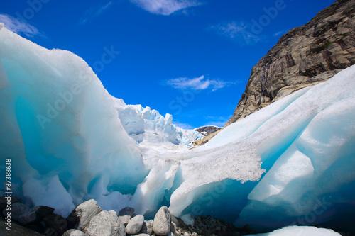 Papiers peints Glaciers Nigardsbreen glacier