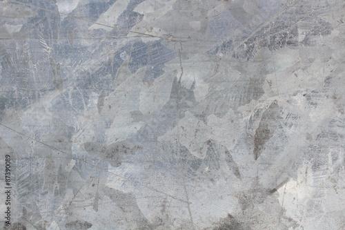 Fototapety, obrazy: Rusty metal wall colored dye