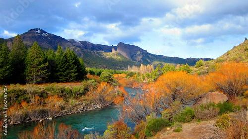 Poster Reflexion Patagonie
