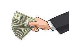 Hands Showing Money 3