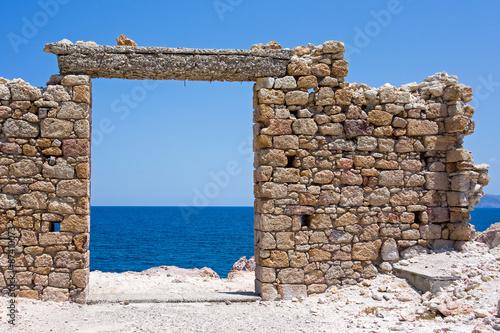 In de dag Rudnes freie Sicht aufs Mittelmeer
