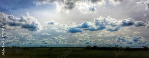 Aluminium Prints Heaven Texas Clouds