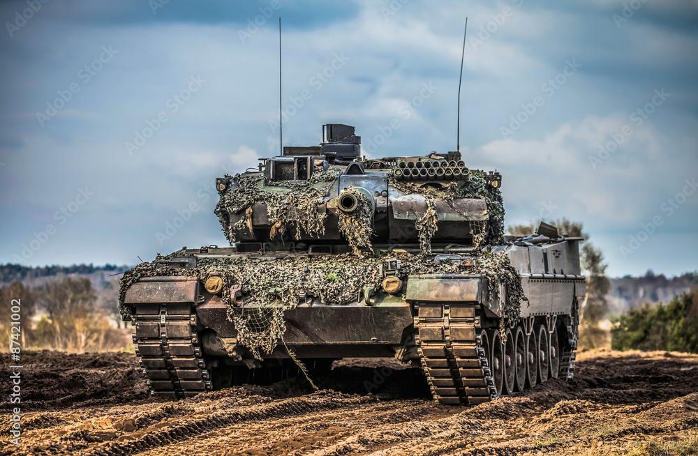 Fototapeta Kampfpanzer Leopard 2 A 6