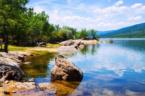 Duero river in Soria Province