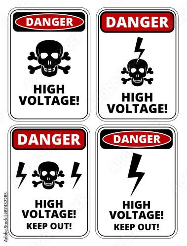Fotografie, Obraz  High voltage