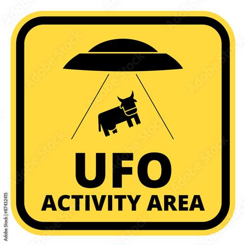 Fototapeta Statki UFO