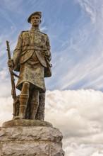 World War One Memorial In Inveraray