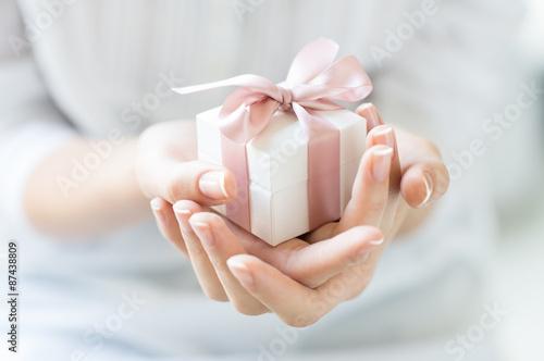 Valokuvatapetti Romantic gift box