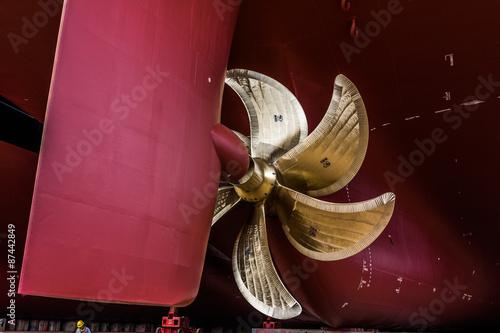 Juliste  Schiffsschraube