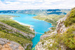 Gorges du Verdon,Provence in France, Europe. Beautiful view on l