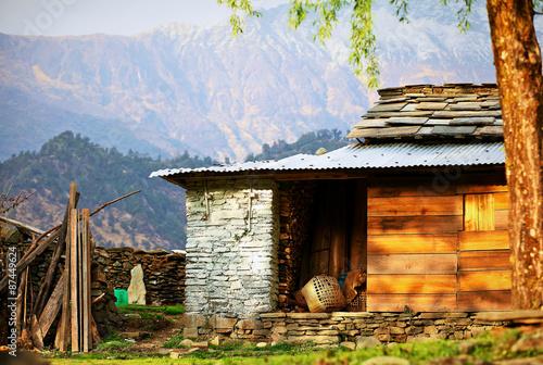 Fototapety, obrazy: Village in  Nepal