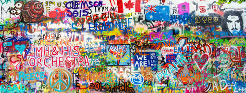 Photo  Graffiti Panorama