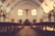 Leinwandbild Motiv church
