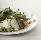 Italian dish with meat