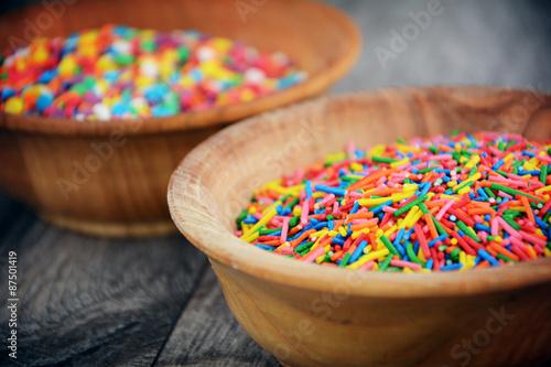 Papiers peints Pansies Sprinkles colorful