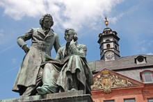Brüder Grimm Denkmal Hanau