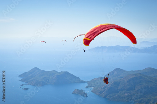 Stampa su Tela Parachuting