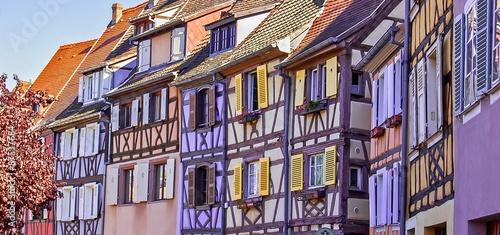 Maisons en Alsace, France Canvas Print