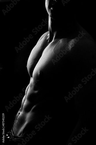 Naklejka premium Muscles #1