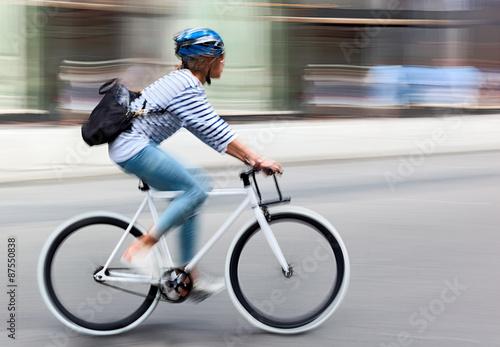 In de dag Fietsen alternative ecological clean transport