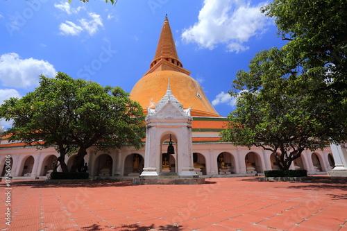 Cadres-photo bureau Budapest Phra Pathom Chedi, pagoda, the landmark of Nakhon Pathom