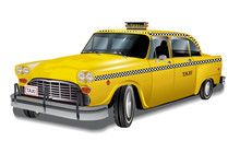 Yellow Cab, New York Retro Tax...