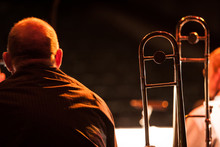 Big Band Trombonist. A View Of...