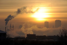 Morning Inversion In Prague