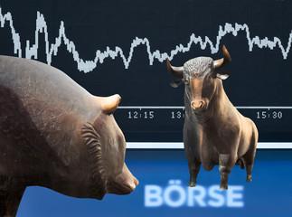 FototapetaFrankfurter Börse