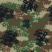 Camouflage Seamless Pattern.Ca...